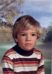Matt Watts, age 6 or 7
