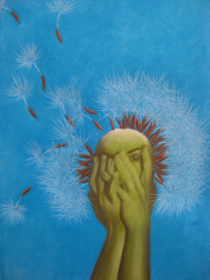 Dandelions and Bad Hair Days Book Cover Art