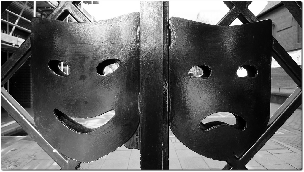 Happy Sad Masks